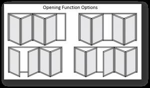 bifold door options