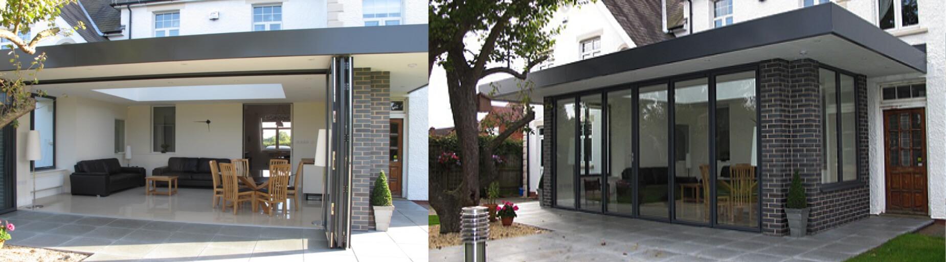 conservatory bi fold doors