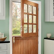 Stable Door Composite Oak